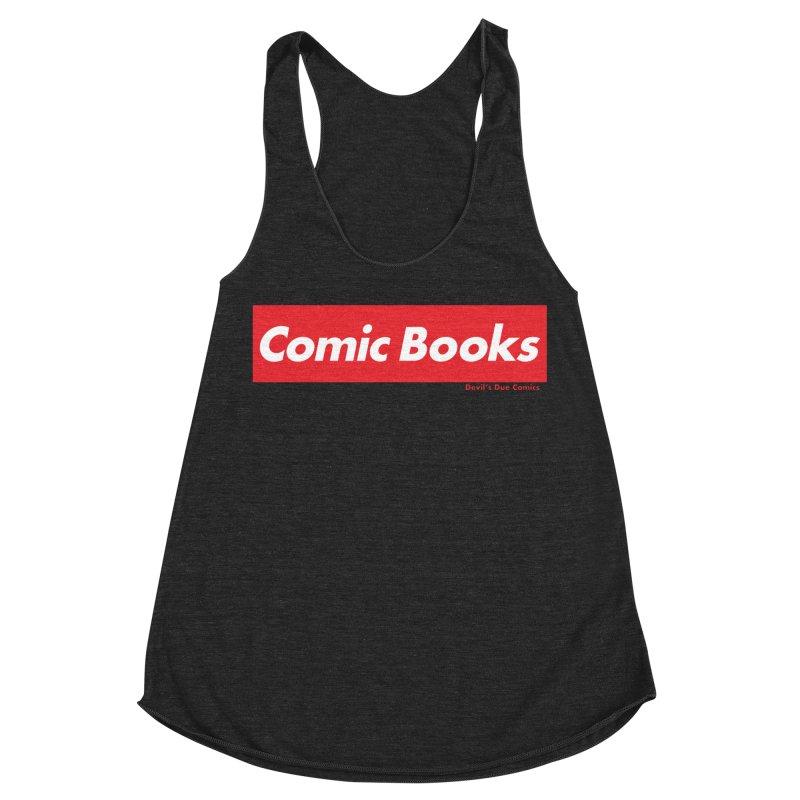 Comics Are Supreme Women's Racerback Triblend Tank by Devil's Due Comics