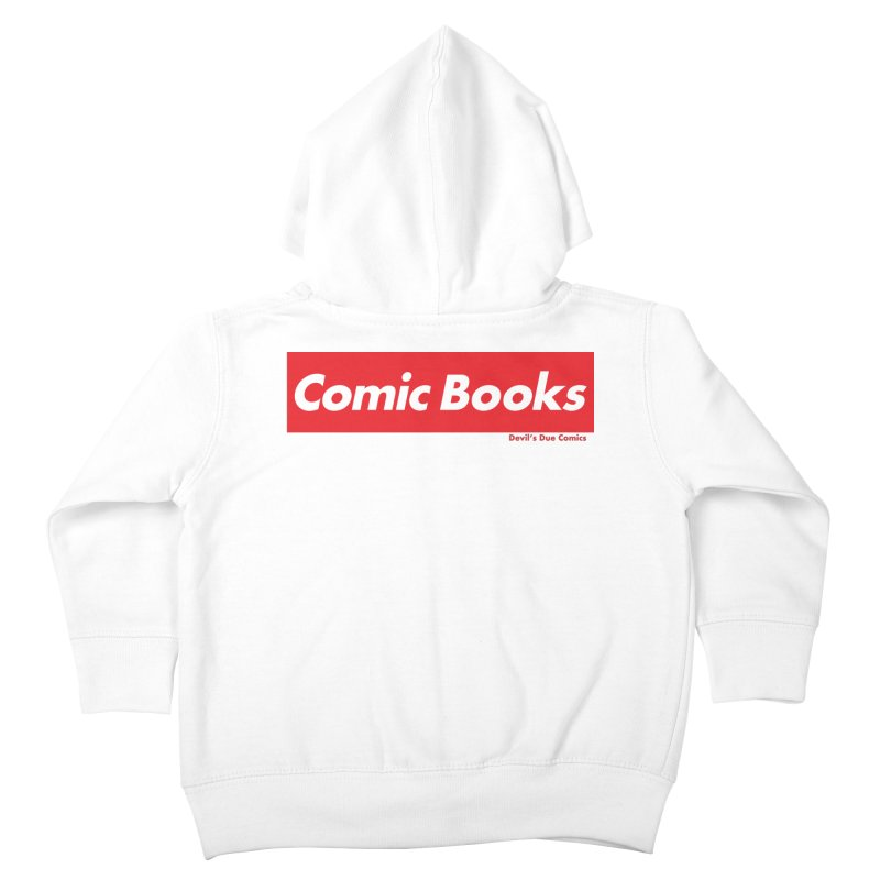 Comics Are Supreme Kids Toddler Zip-Up Hoody by Devil's Due Comics