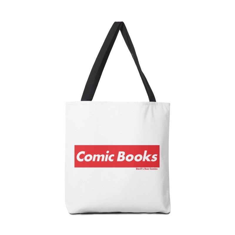 Comics Are Supreme Accessories Tote Bag Bag by Devil's Due Comics