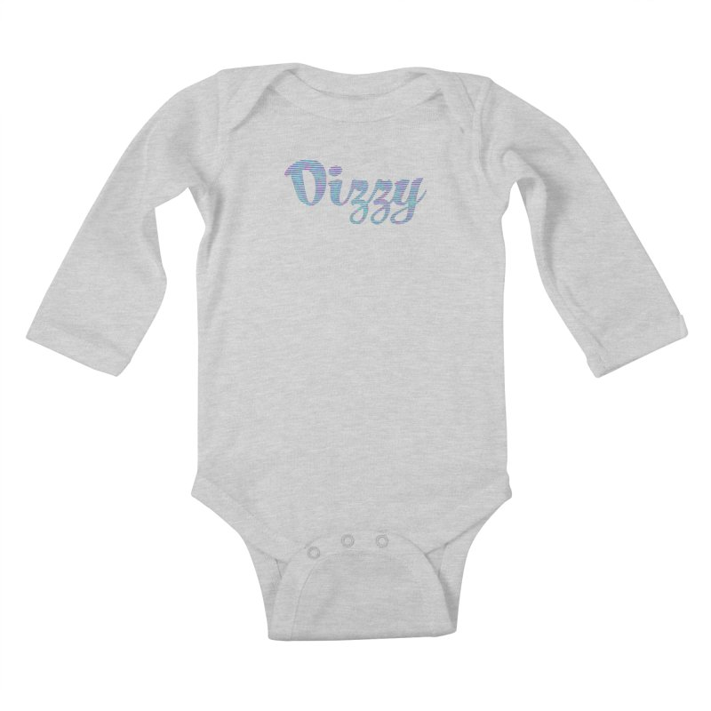 Dizzy Kids Baby Longsleeve Bodysuit by Demeter Designs Artist Shop