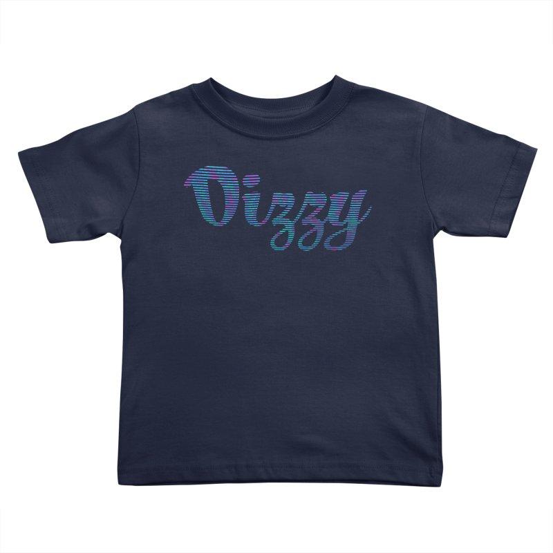 Dizzy Kids Toddler T-Shirt by Demeter Designs Artist Shop