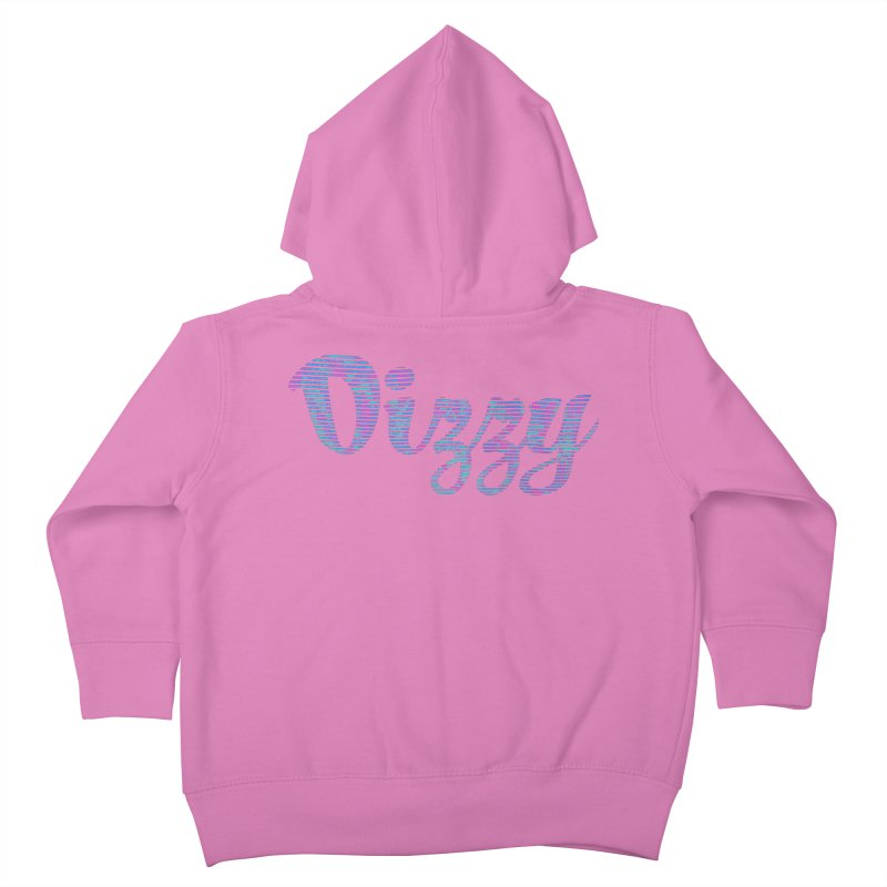 Dizzy Kids Toddler Zip-Up Hoody by Demeter Designs Artist Shop