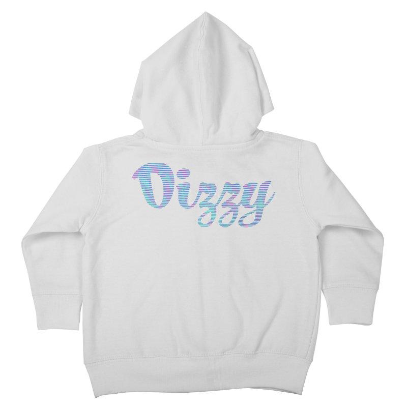 Dizzy Kids Toddler Zip-Up Hoody by Demeter Designs Artist Shop