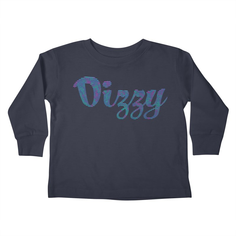 Dizzy Kids Toddler Longsleeve T-Shirt by Demeter Designs Artist Shop