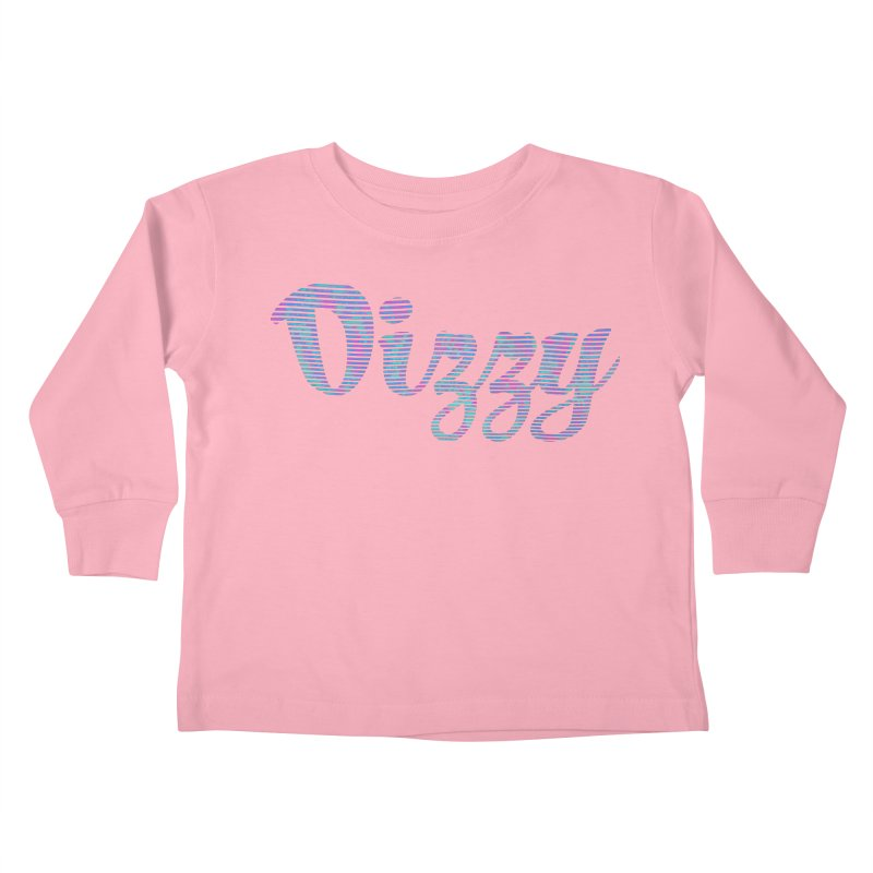 Dizzy Kids Toddler Longsleeve T-Shirt by Demeter Designs Artist Shop