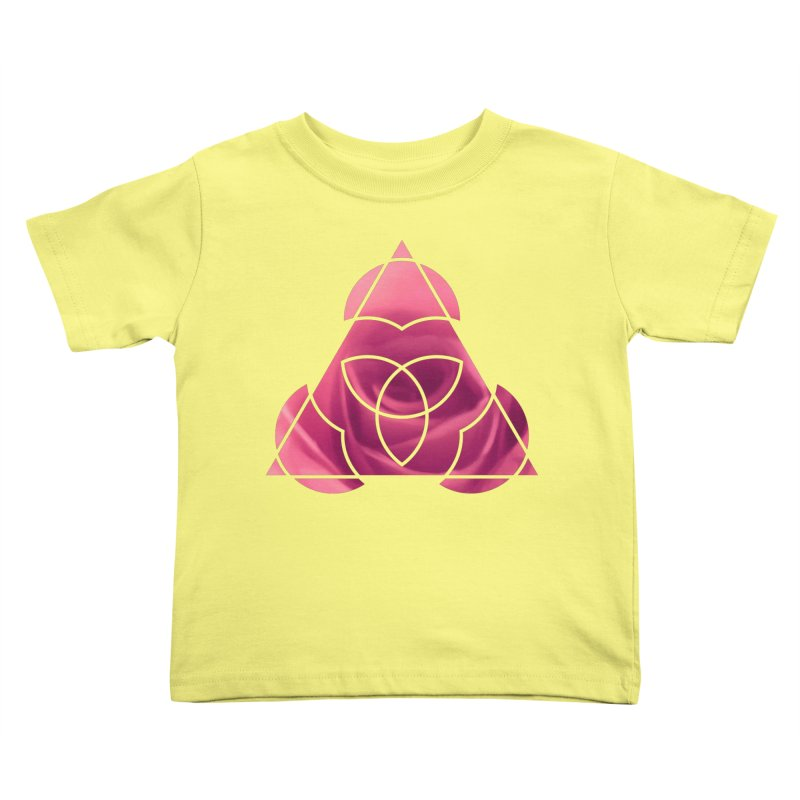 Pretty Pointed Kids Toddler T-Shirt by Demeter Designs Artist Shop