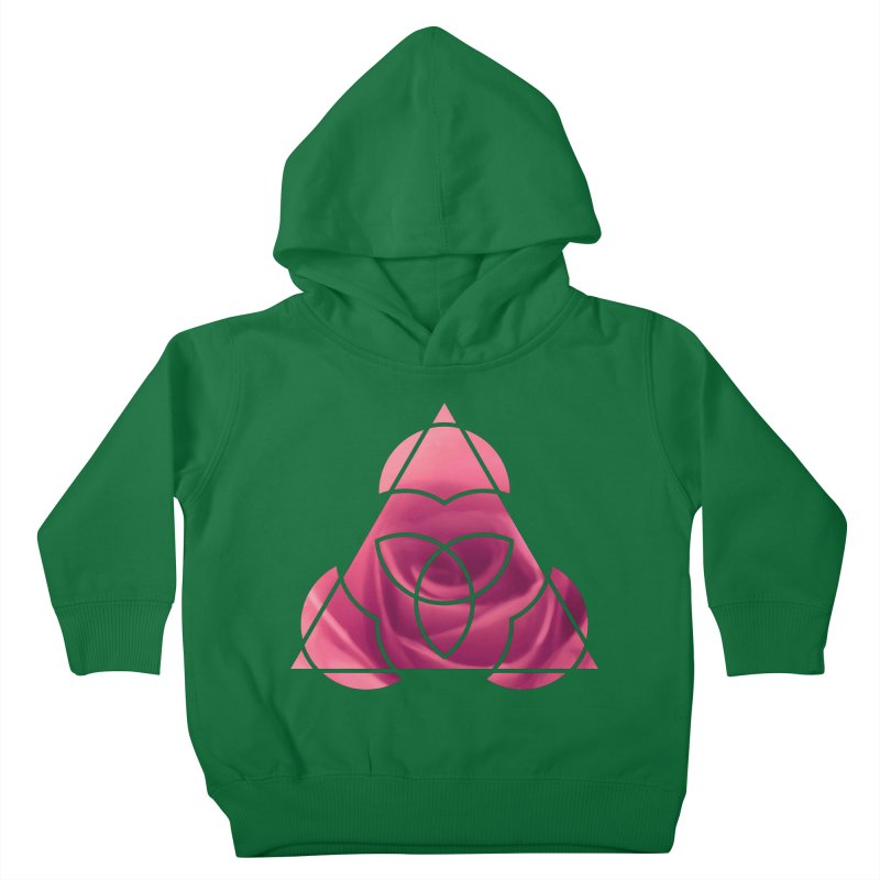 Pretty Pointed Kids Toddler Pullover Hoody by Demeter Designs Artist Shop