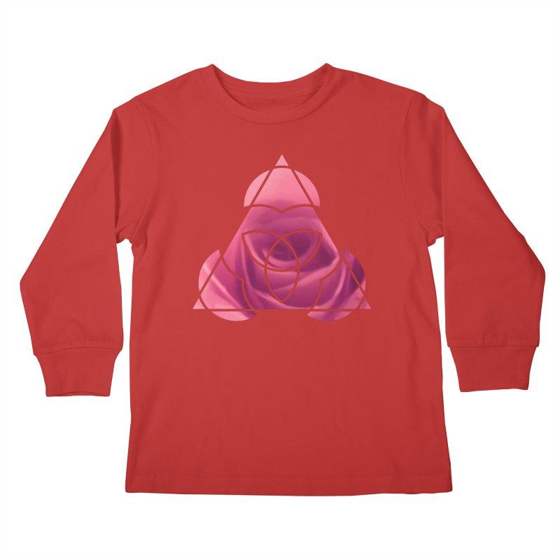 Pretty Pointed Kids Longsleeve T-Shirt by Demeter Designs Artist Shop