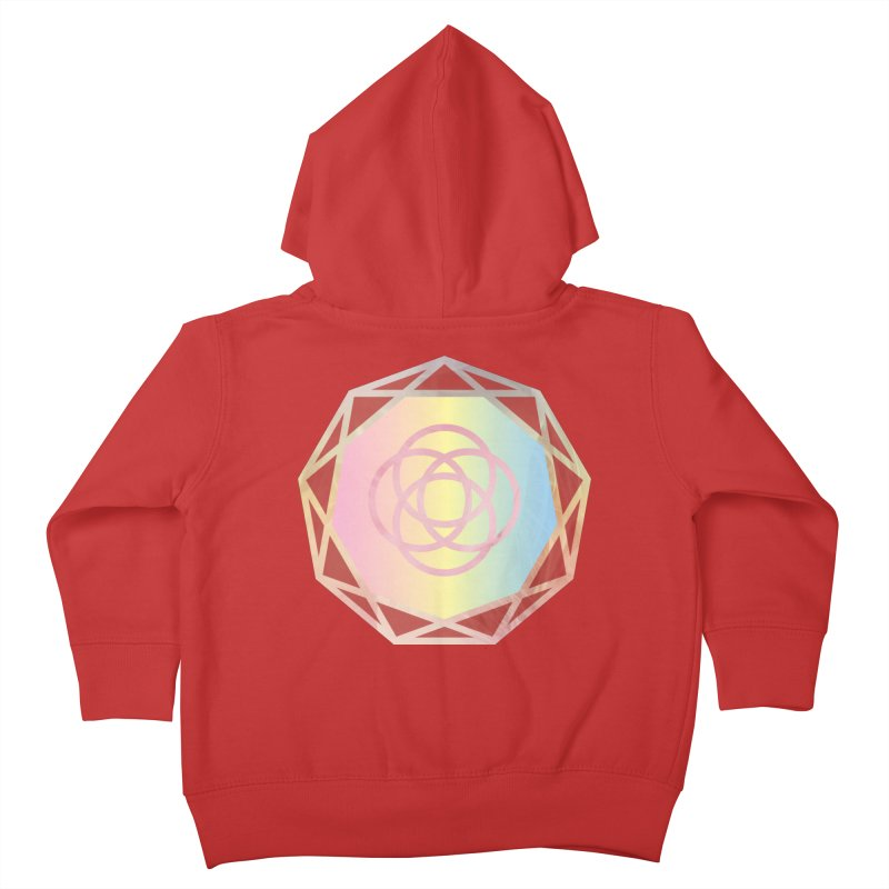 Light as a feather. Kids Toddler Zip-Up Hoody by Demeter Designs Artist Shop