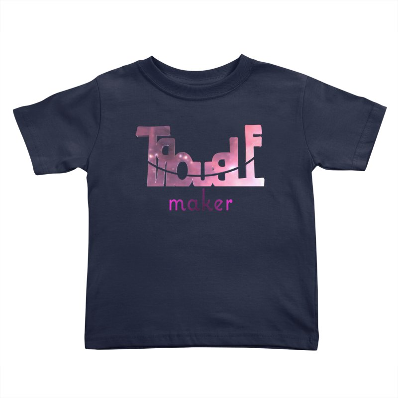 Making Trouble Kids Toddler T-Shirt by Demeter Designs Artist Shop