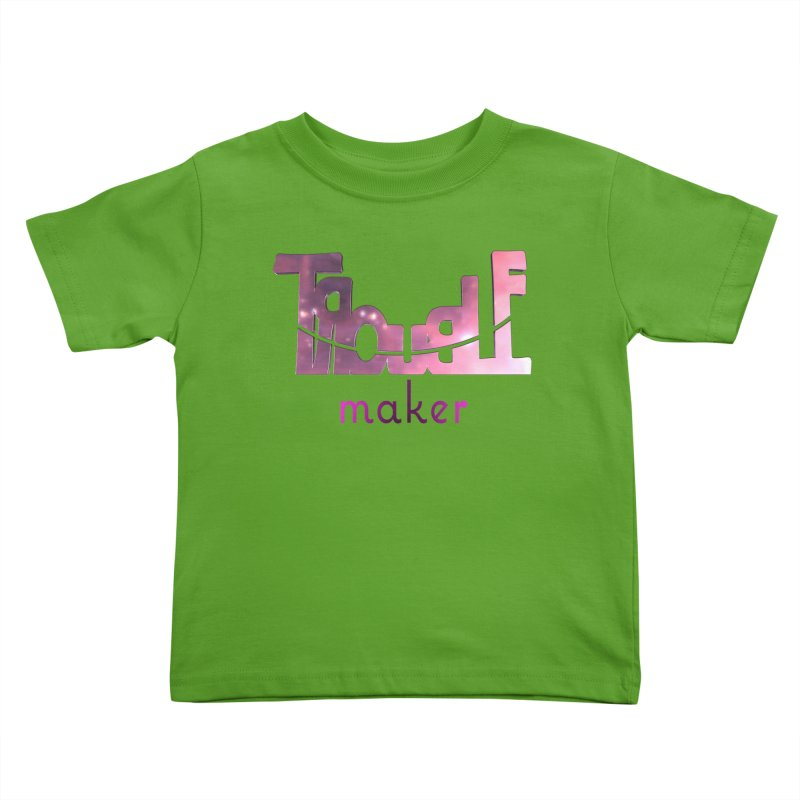Making Trouble Kids Toddler T-Shirt by Demeter Designs Artist Shop