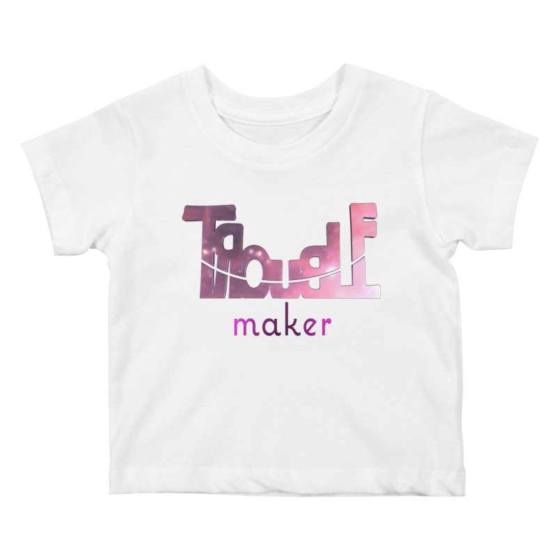 Making Trouble Kids Baby T-Shirt by Demeter Designs Artist Shop