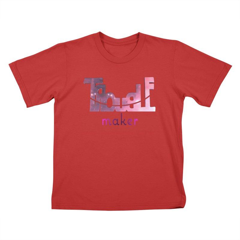 Making Trouble Kids T-Shirt by Demeter Designs Artist Shop