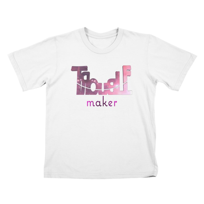 Making Trouble Kids T-Shirt by Demeter Designs Artist Shop