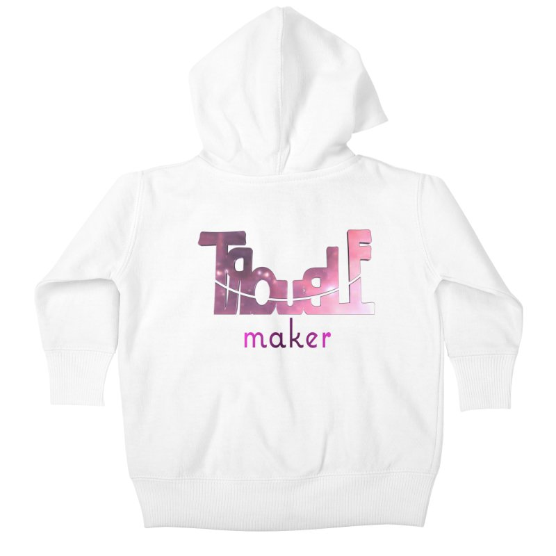 Making Trouble Kids Baby Zip-Up Hoody by Demeter Designs Artist Shop