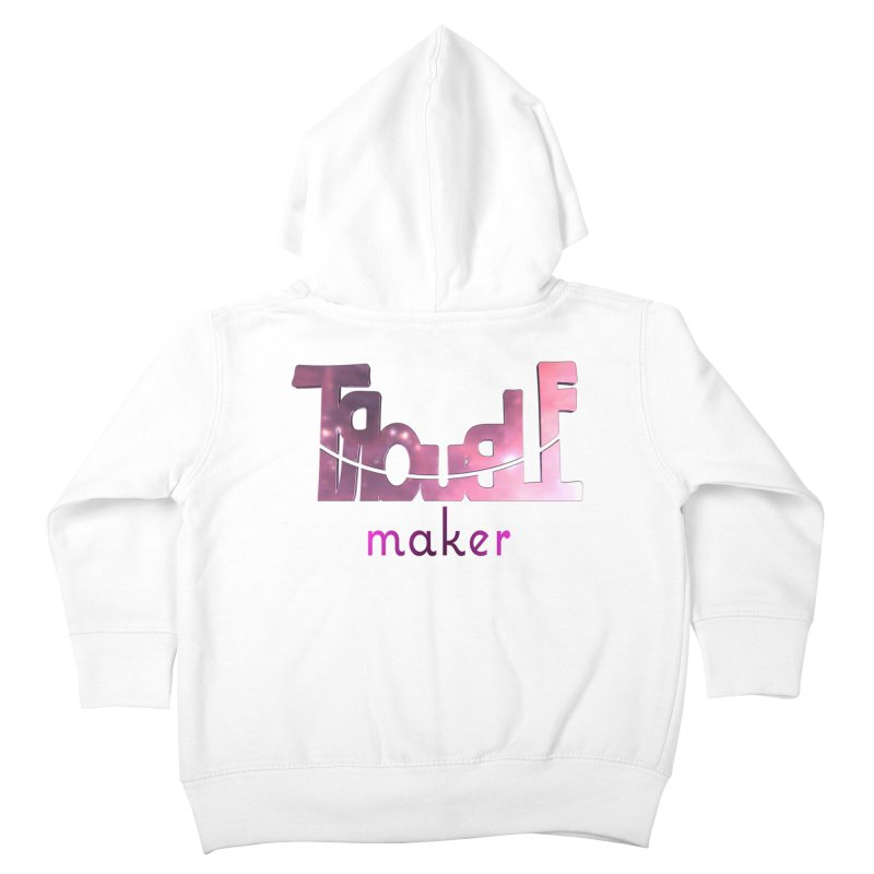 Making Trouble Kids Toddler Zip-Up Hoody by Demeter Designs Artist Shop