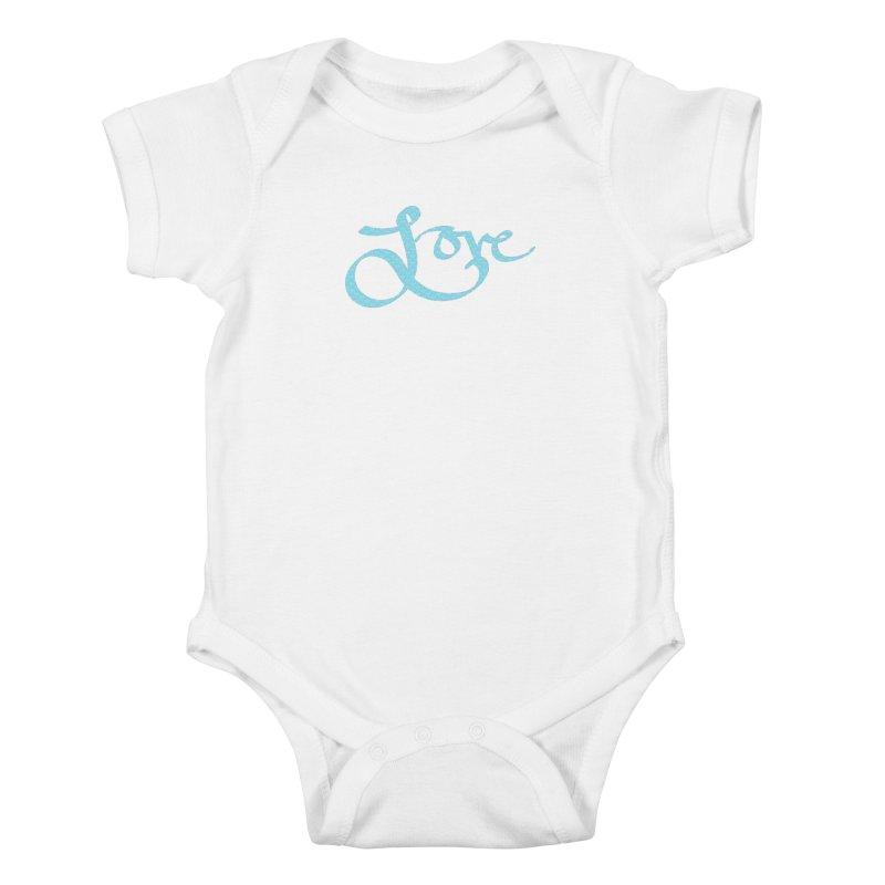 Recursive Love Kids Baby Bodysuit by Demeter Designs Artist Shop