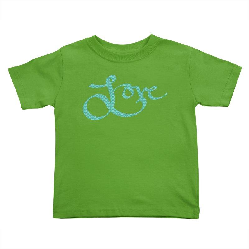Recursive Love Kids Toddler T-Shirt by Demeter Designs Artist Shop