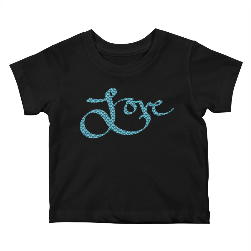 Recursive Love Kids Baby T-Shirt by Demeter Designs Artist Shop