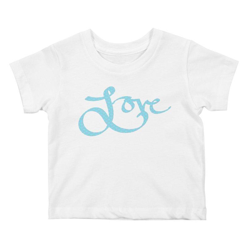 Recursive Love Kids Baby T-Shirt by Demeter Designs Artist Shop