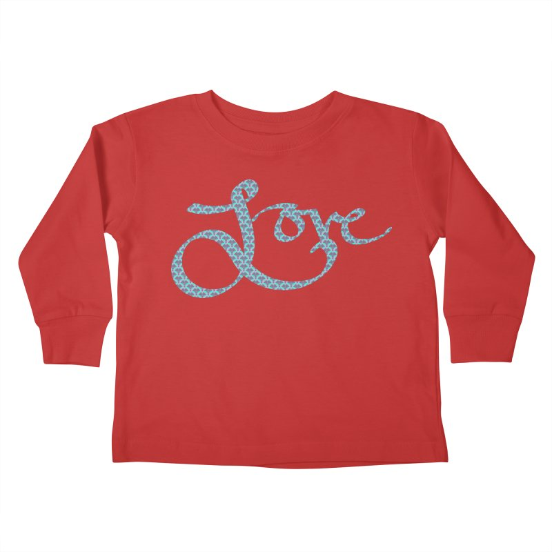 Recursive Love Kids Toddler Longsleeve T-Shirt by Demeter Designs Artist Shop