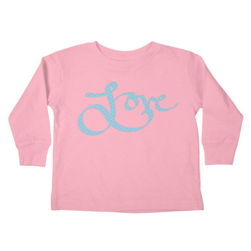 Recursive Love Kids Toddler Longsleeve T-Shirt by Demeter Designs Artist Shop