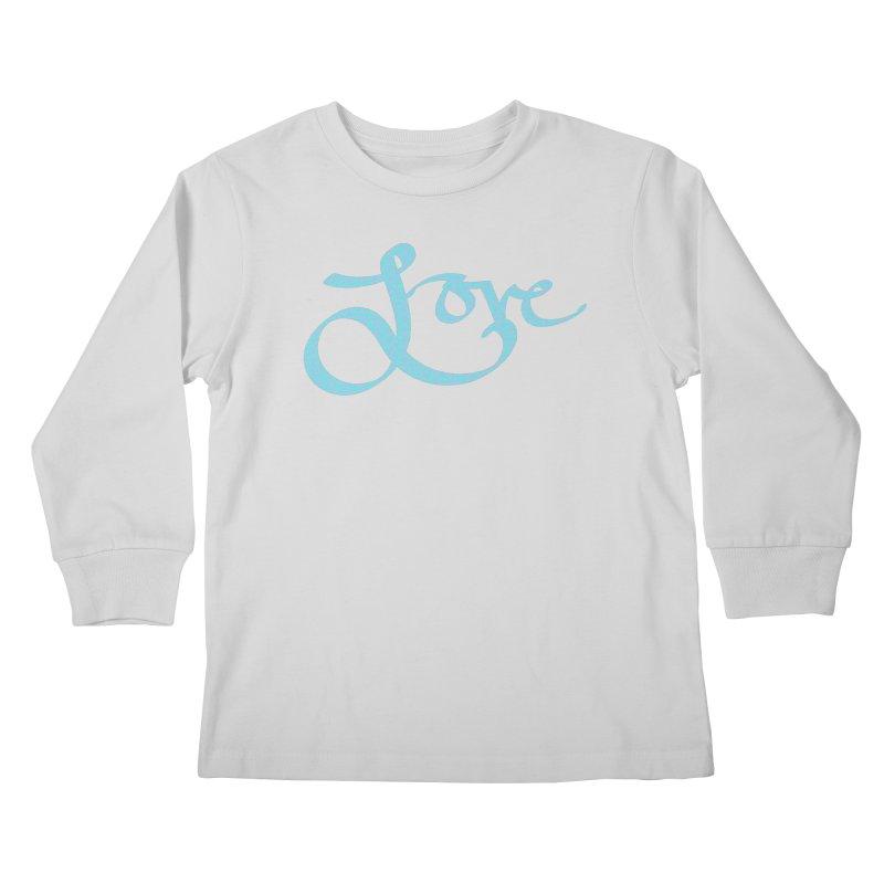 Recursive Love Kids Longsleeve T-Shirt by Demeter Designs Artist Shop