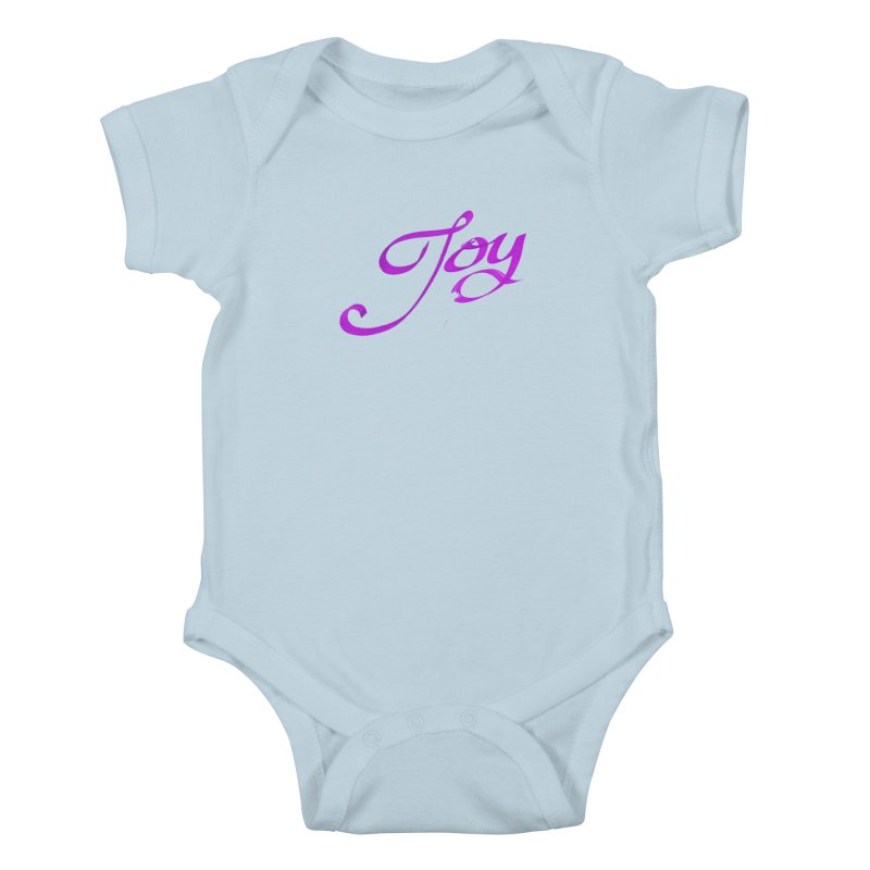 Watercolor Joy. Kids Baby Bodysuit by Demeter Designs Artist Shop
