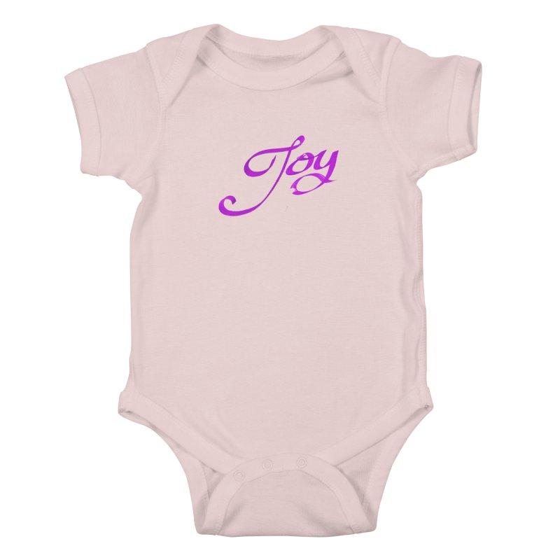 Watercolor Joy. Kids Baby Bodysuit by Demeter Designs Artist Shop