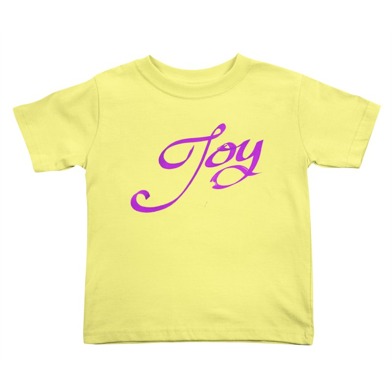 Watercolor Joy. Kids Toddler T-Shirt by Demeter Designs Artist Shop