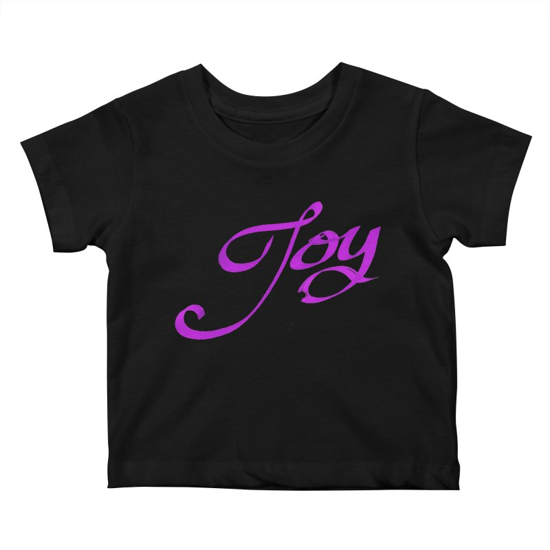 Watercolor Joy. Kids Baby T-Shirt by Demeter Designs Artist Shop
