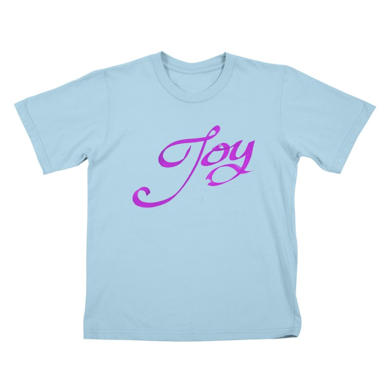 Watercolor Joy. Kids T-Shirt by Demeter Designs Artist Shop