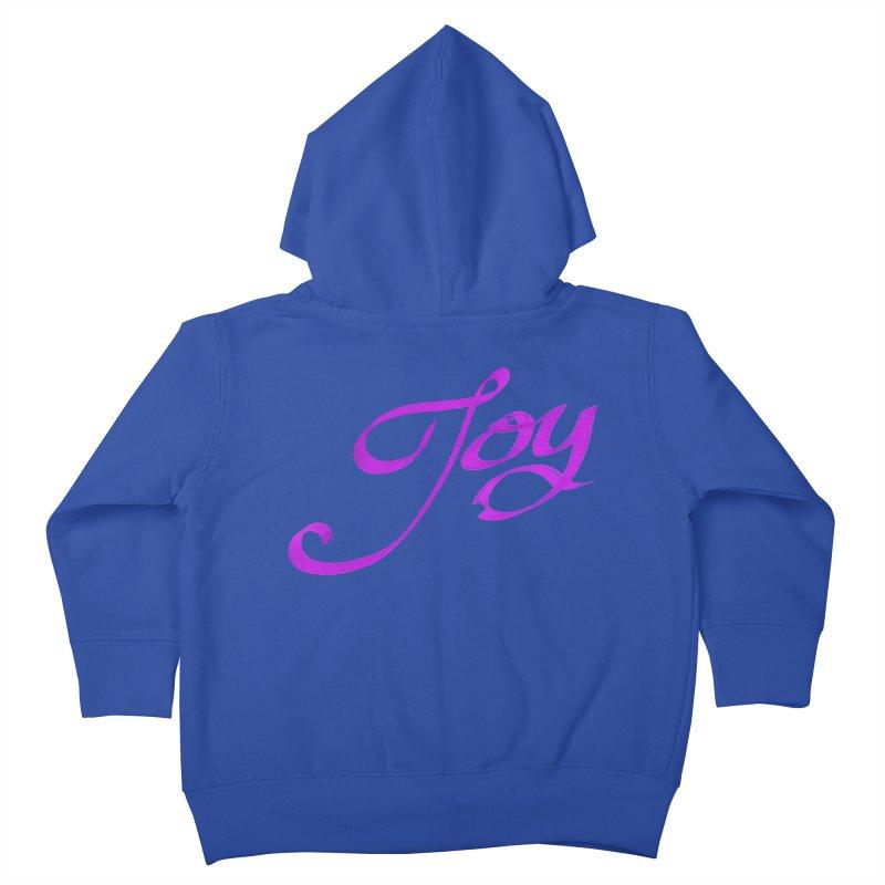Watercolor Joy. Kids Toddler Zip-Up Hoody by Demeter Designs Artist Shop