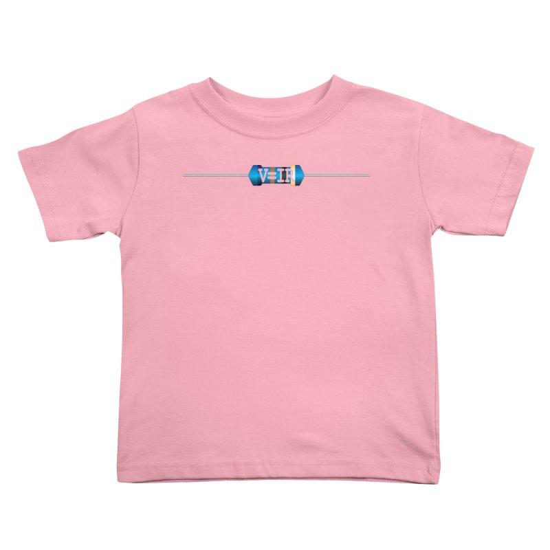Ohm Resists Kids Toddler T-Shirt by Demeter Designs Artist Shop