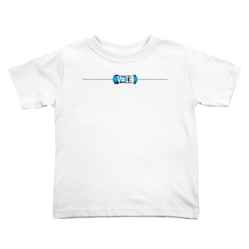 Ohm Resists Kids Toddler T-Shirt by Demeter Designs Artist Shop