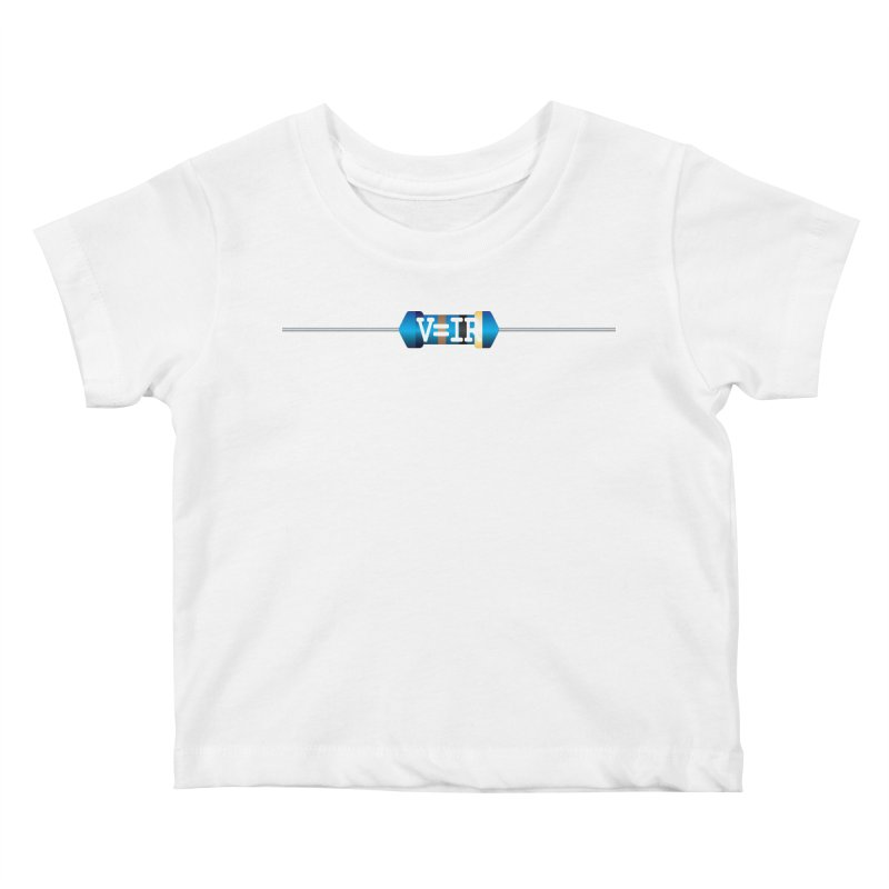 Ohm Resists Kids Baby T-Shirt by Demeter Designs Artist Shop
