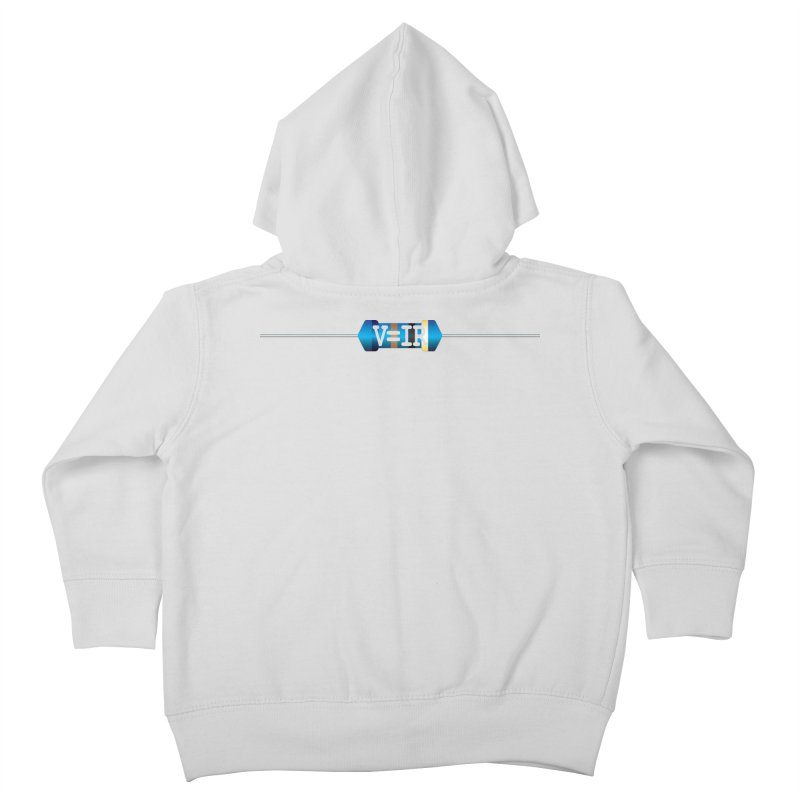 Ohm Resists Kids Toddler Zip-Up Hoody by Demeter Designs Artist Shop