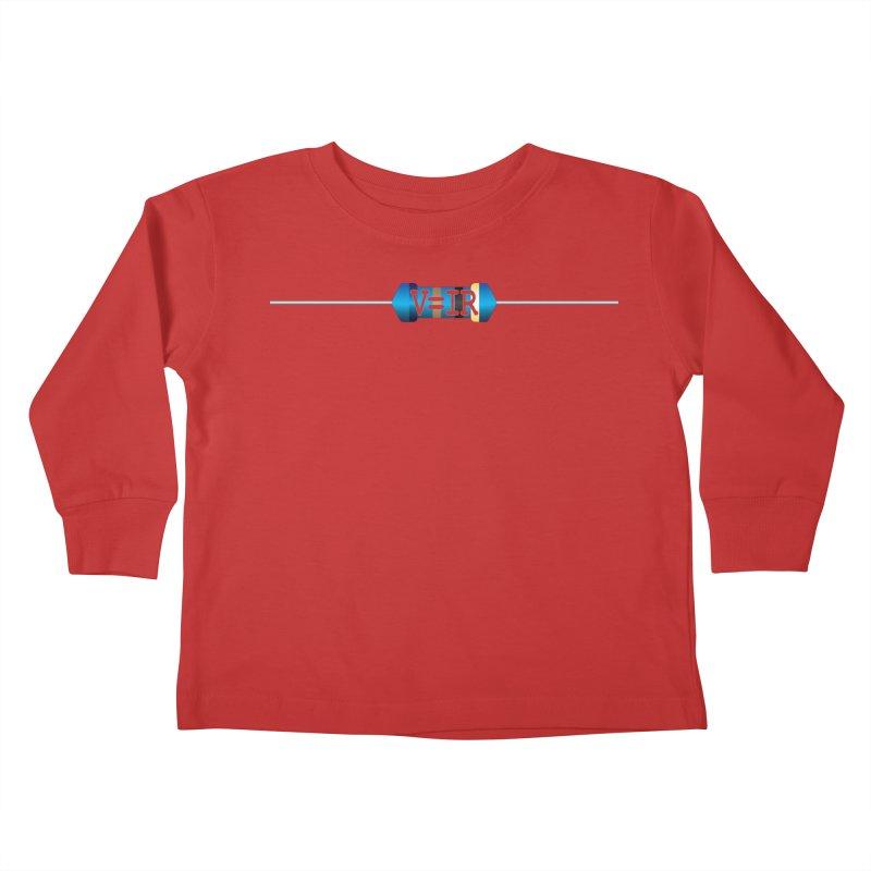 Ohm Resists Kids Toddler Longsleeve T-Shirt by Demeter Designs Artist Shop
