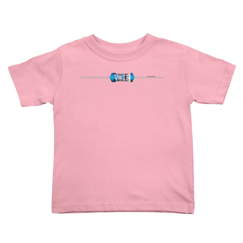 Ohm Resists (#GeeksResist) Kids Toddler T-Shirt by Demeter Designs Artist Shop