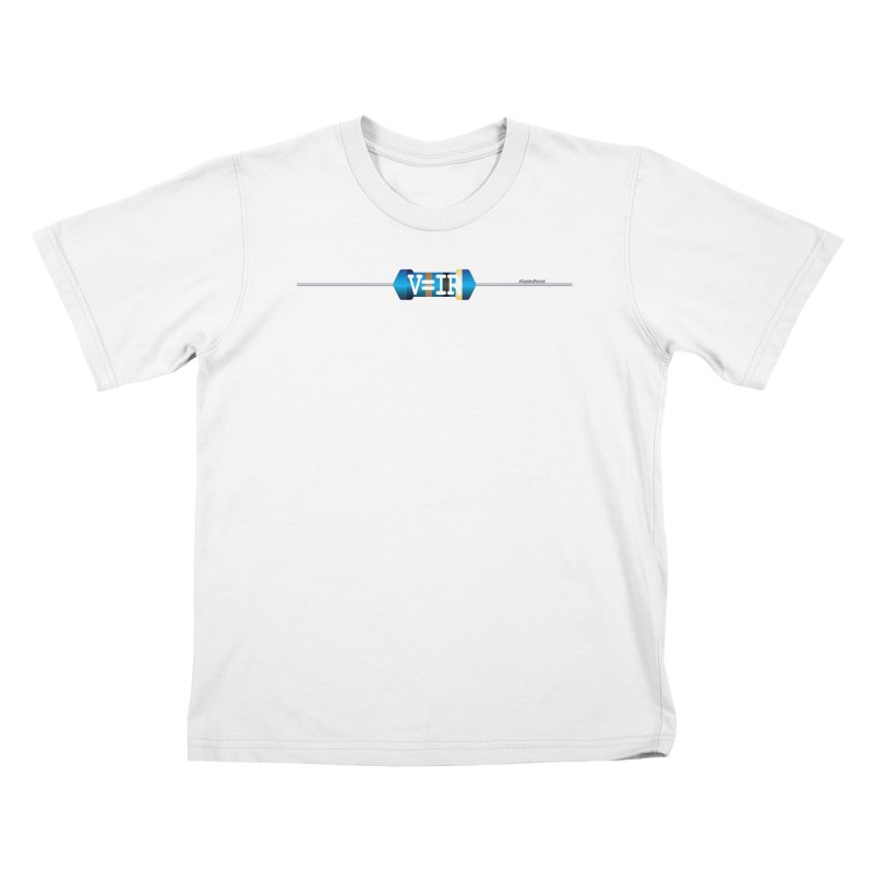 Ohm Resists (#GeeksResist) Kids T-Shirt by Demeter Designs Artist Shop