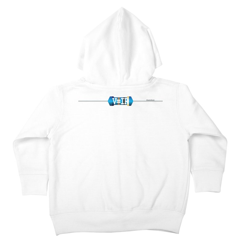 Ohm Resists (#GeeksResist) Kids Toddler Zip-Up Hoody by Demeter Designs Artist Shop