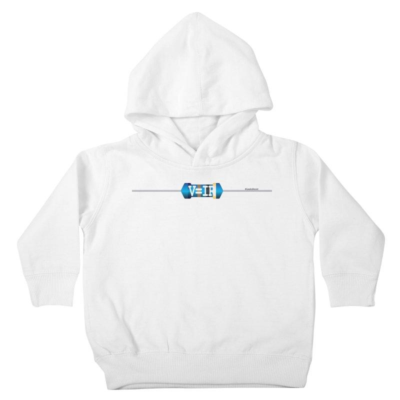 Ohm Resists (#GeeksResist) Kids Toddler Pullover Hoody by Demeter Designs Artist Shop