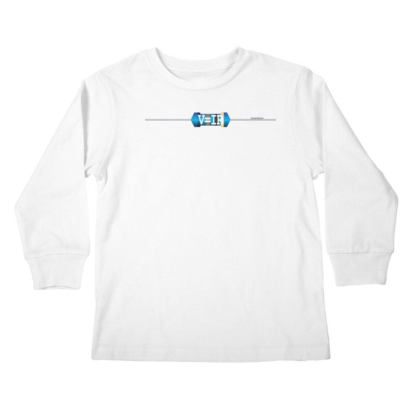 Ohm Resists (#GeeksResist) Kids Longsleeve T-Shirt by Demeter Designs Artist Shop
