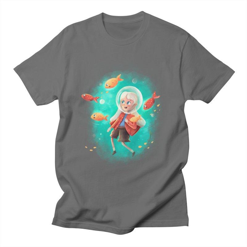 Nora's Undersea Adventure Men's T-Shirt by Dexter's T-Shirts