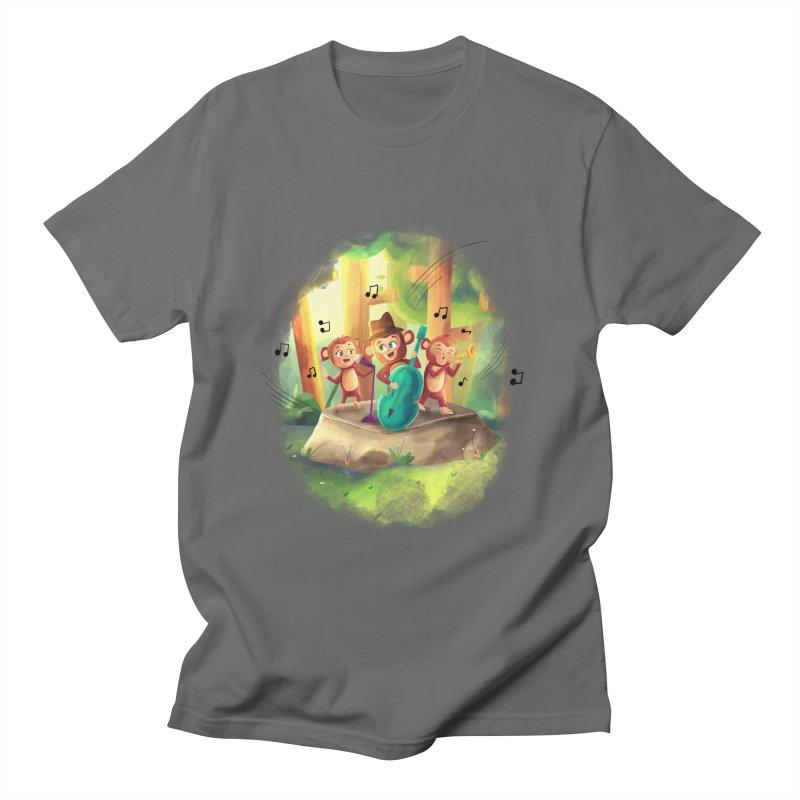 The Monkeys Men's T-Shirt by Dexter's T-Shirts