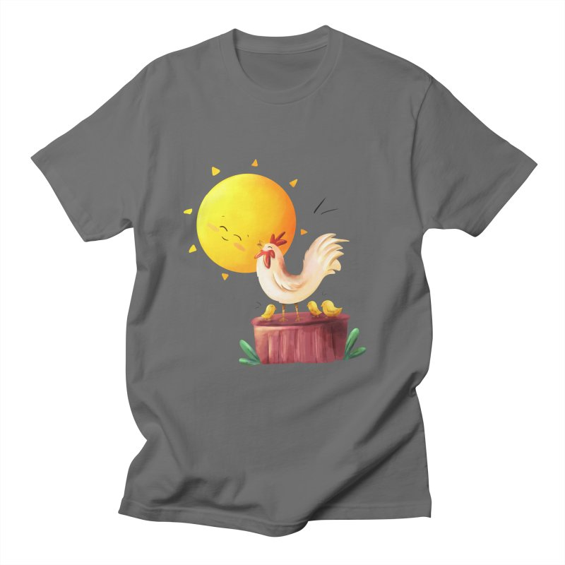 The Morning Rooster Men's T-Shirt by Dexter's T-Shirts