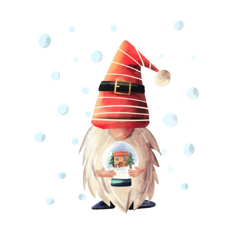 The Christmas Gnome Men's T-Shirt by Dexter's T-Shirts
