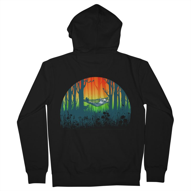 FOR-REST Men's Zip-Up Hoody by deyaz's Artist Shop