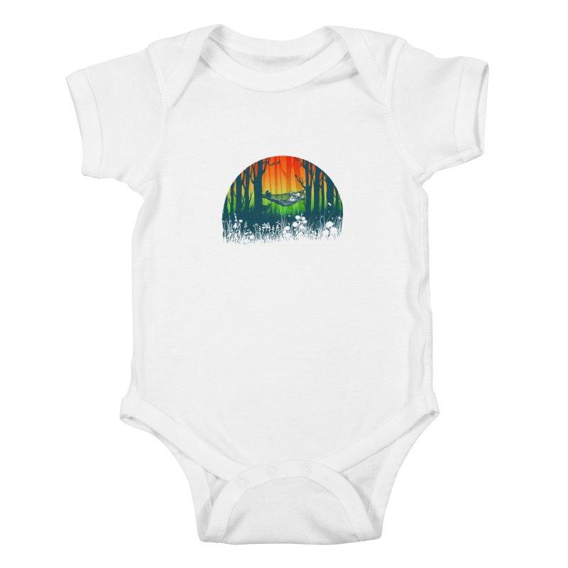 FOR-REST Kids Baby Bodysuit by deyaz's Artist Shop
