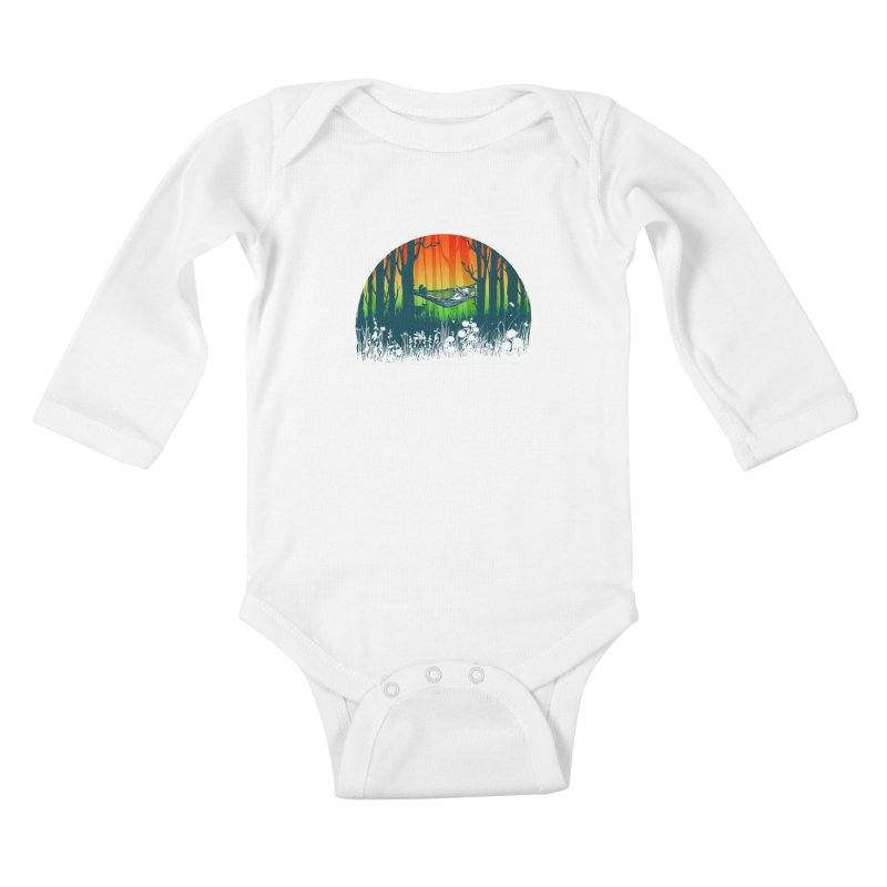 FOR-REST Kids Baby Longsleeve Bodysuit by deyaz's Artist Shop